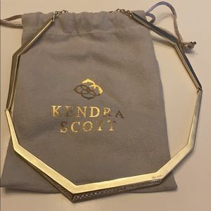 ❤️❤️Kendra Scott necklace gold ❤️❤️